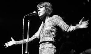 Helen Reddy performing in London in 1974.