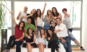 Employees of Cyberclick, Barcelona, are encouraged to identify their own values and share them with the team