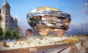 The Cloud, or 'Fourth Grace', was Alsop's proposed building for Liverpool waterfront but the scheme was scrapped in 2004