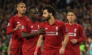 Jürgen Klopp: 'I think [Mohamed Salah] would say thanks to his teammates because it's quite difficult to score goals without these wonderful passes and crosses.'