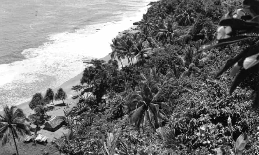 The village of Aitape in Papua New Guinea, near where the partial skull was found in 1929.