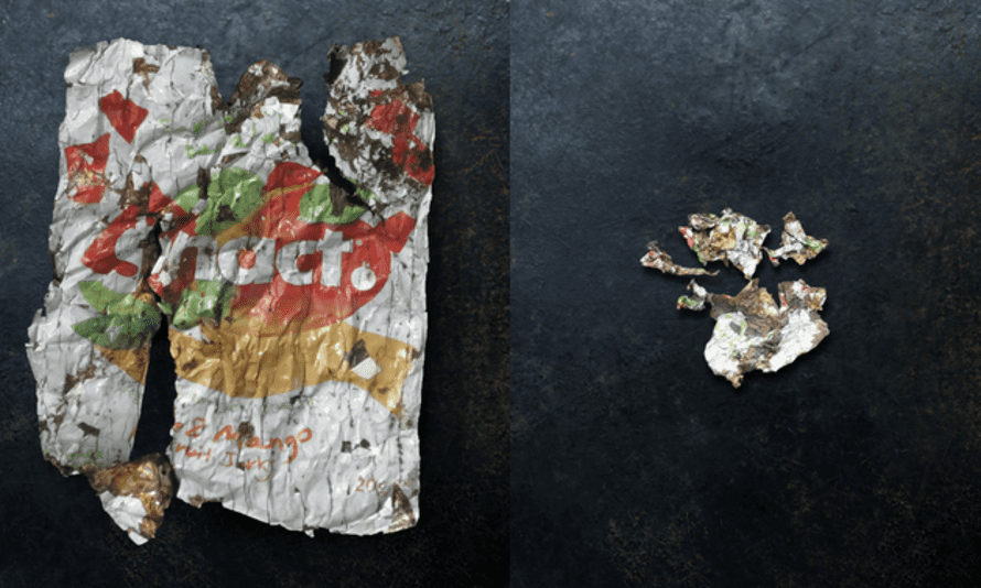 Snact's compostable packaging