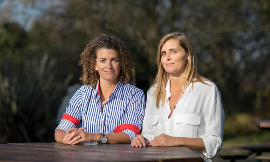 Jenny Matthews and Natasha Amrose of She of the Sea, a community of professional Women in the Yachting industry.