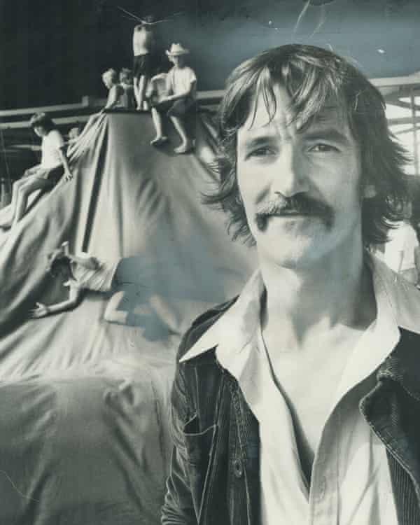 Eric McMillan at Children's Village in 1973.