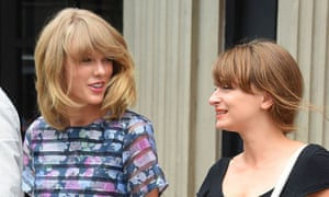 Besties: Taylor Swift with Hermione Hoby, Manhattan, 12 August 2014.