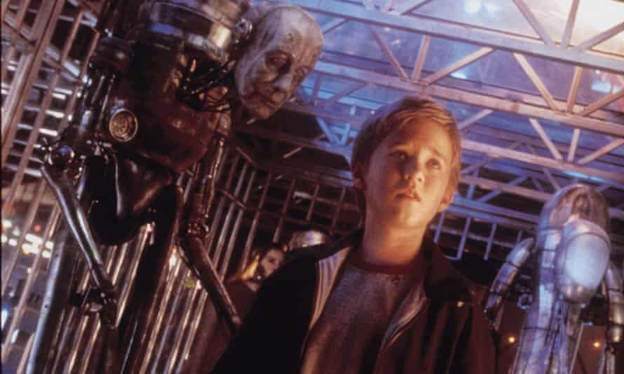 AI: Artificial intelligence, 2001, directed by Steven Spielberg and based on a short story by Brian Aldiss.