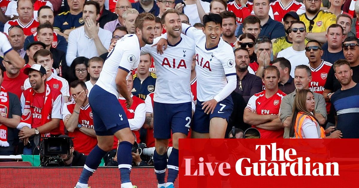 Arsenal v Tottenham: Premier League –live!