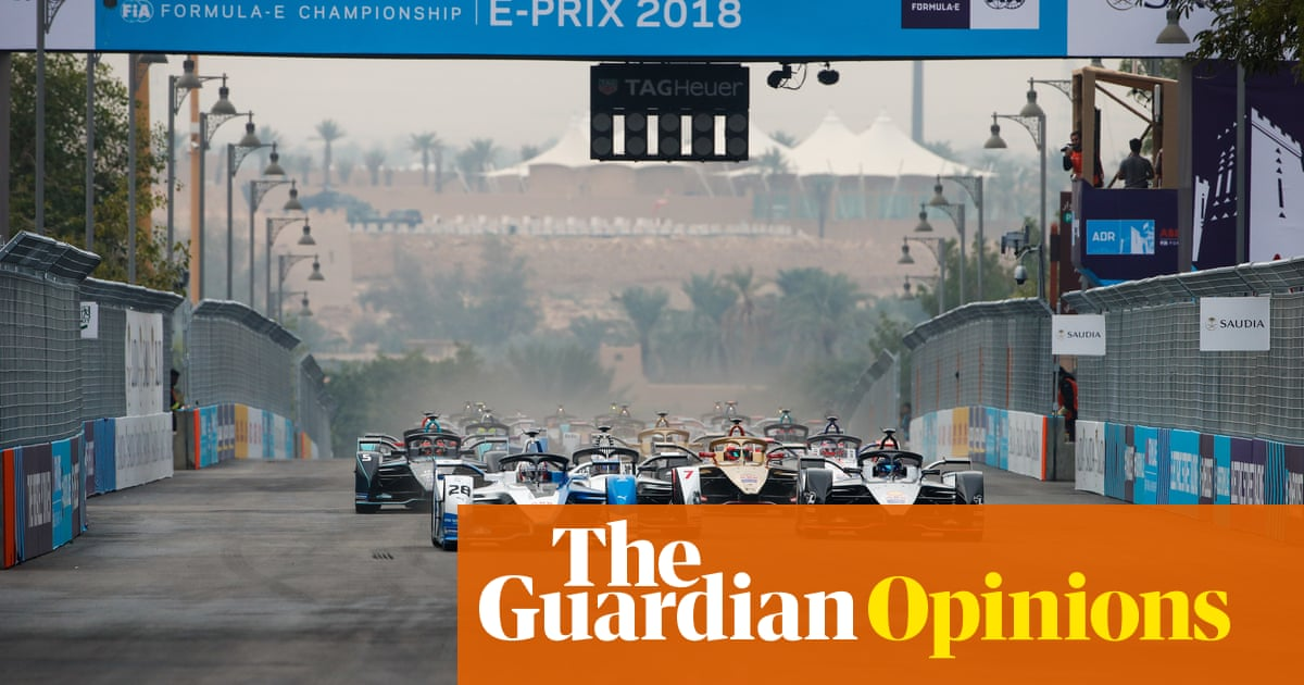 Saudi race not about F1 healing powers but cash and cleaning the regime's reputation | Marina Hyde