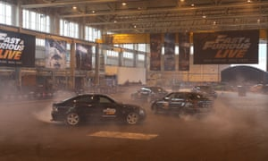 Spectacular Fast And Furious Car Stunt Live Show Is A M Gamble - Fast and furious car show