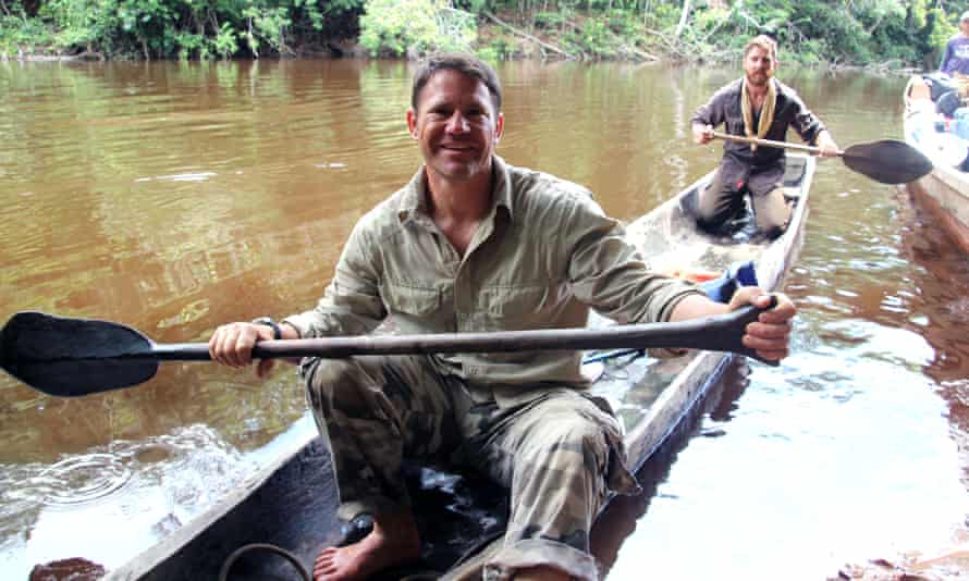 Steve Backshall who has spent more than 20 years exploring the globe.