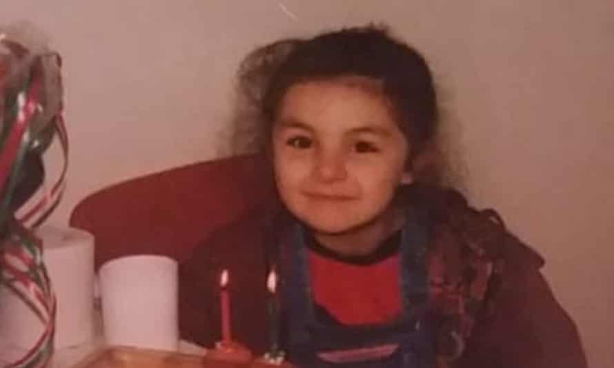 Mevan Babakar on her fifth birthday.