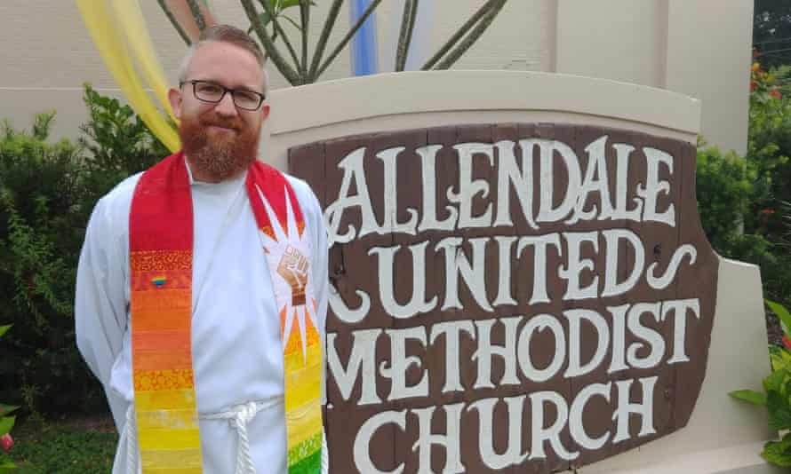 Pastor Andy Oliver of Allendale United Methodist church in Pinellas county, Florida.