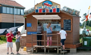 The crab hut at Brancaster Staithe