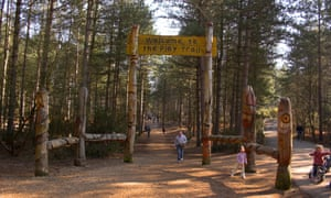Entrance to Moors Valley Country Park