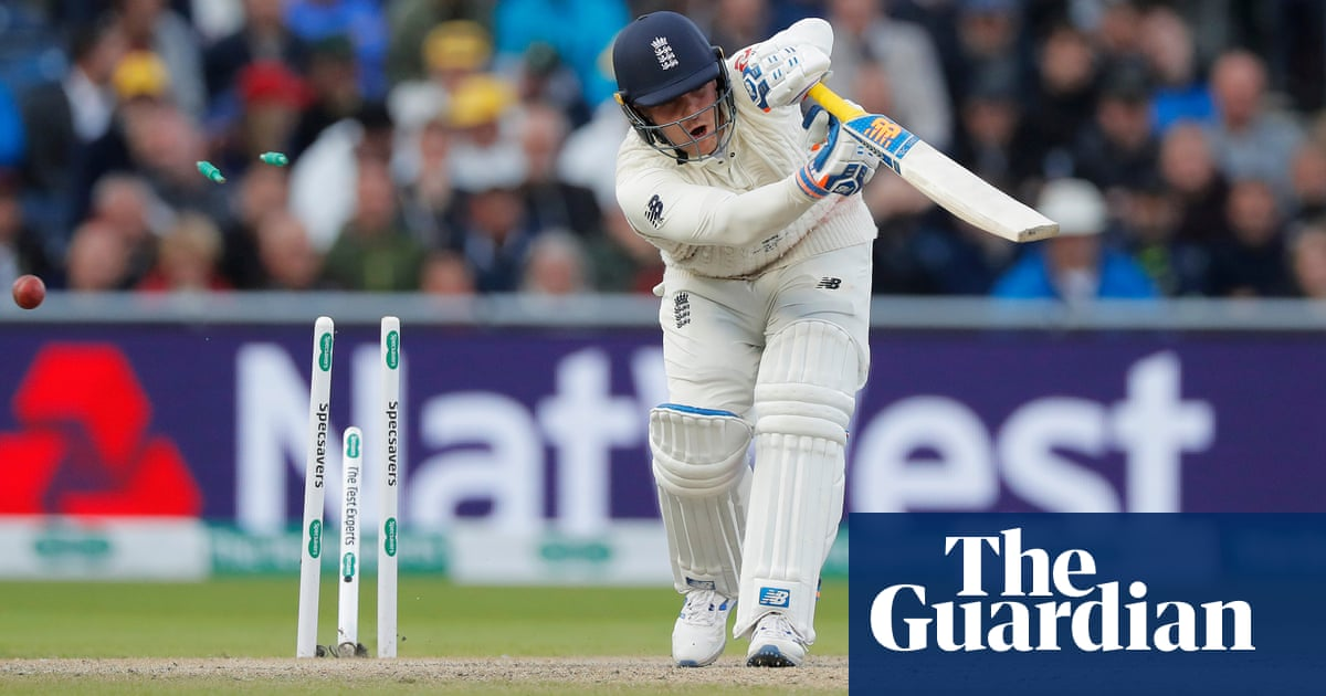 Hazlewood burst rattles England after Root and Burns show path to survival