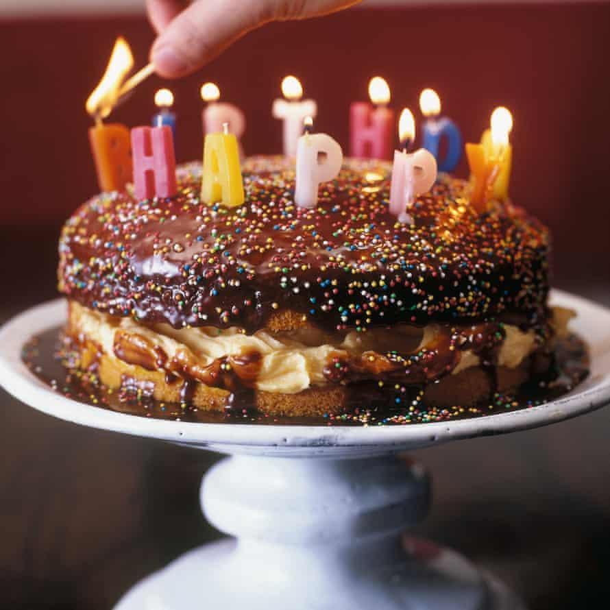 Nigella Lawson's Birthday Custard Sponge