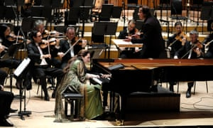 Lacking textural imagination... Simone Dinnerstein performs with the LSO and Kristjan Järvi