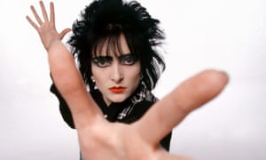 Siouxsie Sioux in black