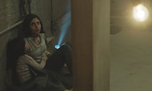Terror above … Avin Manshadi and Narges Rashidi in Under the Shadow.