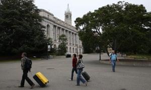 The UC Berkeley campus in northern California.