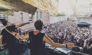 Bob Moses at Moma PS1 in 2015.