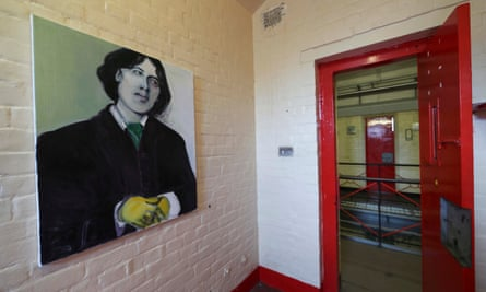 'One of a thousand lifeless numbers' … portrait of Oscar Wilde at Reading prison, where he was jailed from 1895-97.