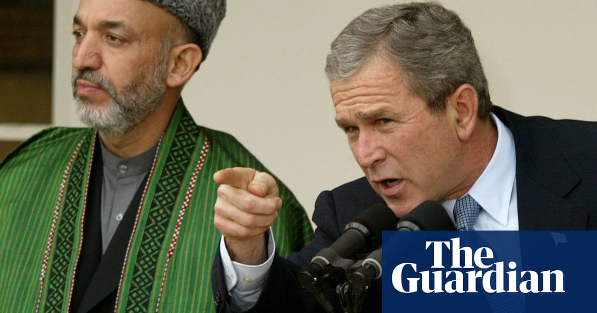 George W Bush fears for women as he criticises Afghanistan pullout