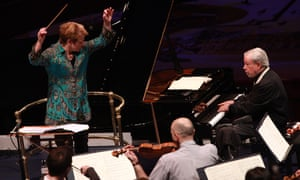 Marin Alsop conducts the São Paulo Symphony Orchestra with pianist Nelson Freire.
