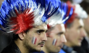 French rugby fans
