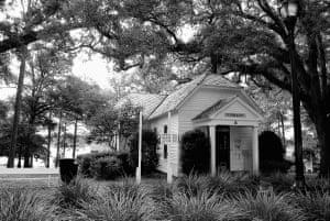 Walton-DeFuniak Library in DeFuniak Springs, Florida opened in 1887