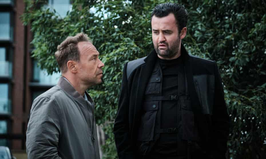 Reluctant partners … Stephen Graham and Daniel Mays in Code 404