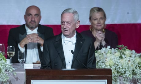 'He earned his spurs from a doctor': Gen James Mattis mocks Donald Trump – video