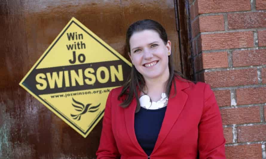 Liberal Democrats candidate Jo Swinson