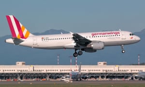 The Germanwings Airbus A320 that crashed in France is pictured at Milan Malpensa in September 2014.
