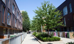 Claredale Street in Bethnal Green, east London.