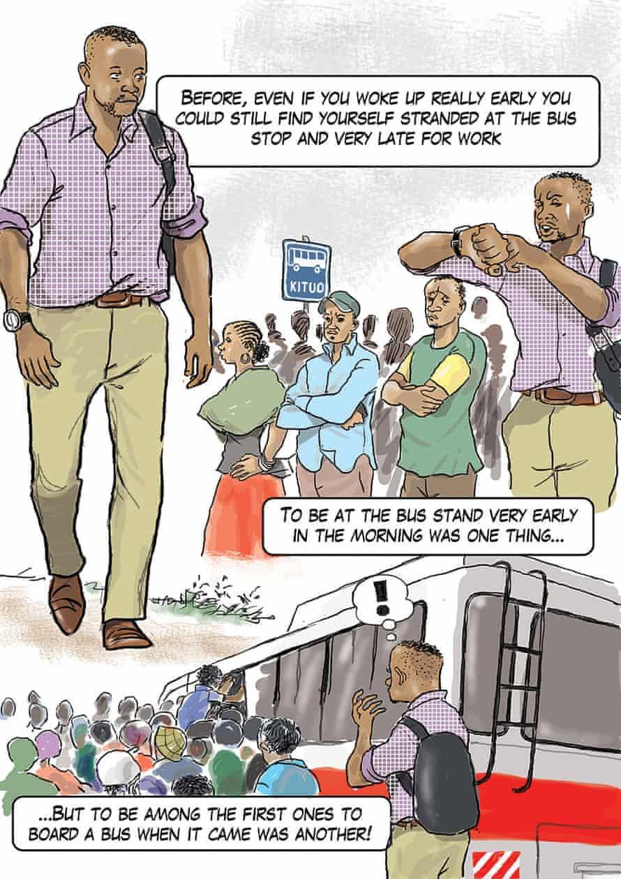 The BRT in Dar Es Salaam by Popa Matumula