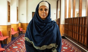 Therapist Amina Thomson, who is using faith teachings to help survivors of Grenfell.