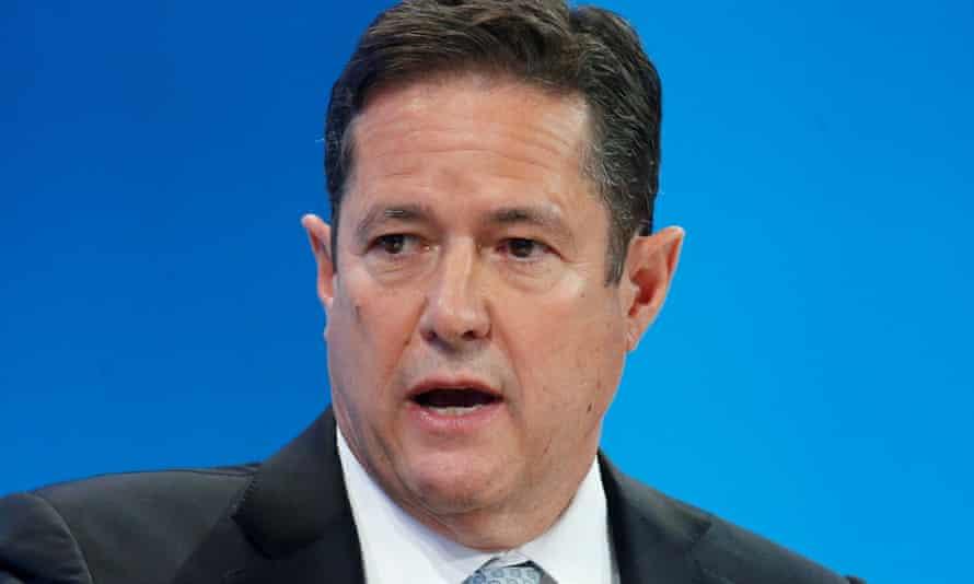Barclays chief Jes Staley