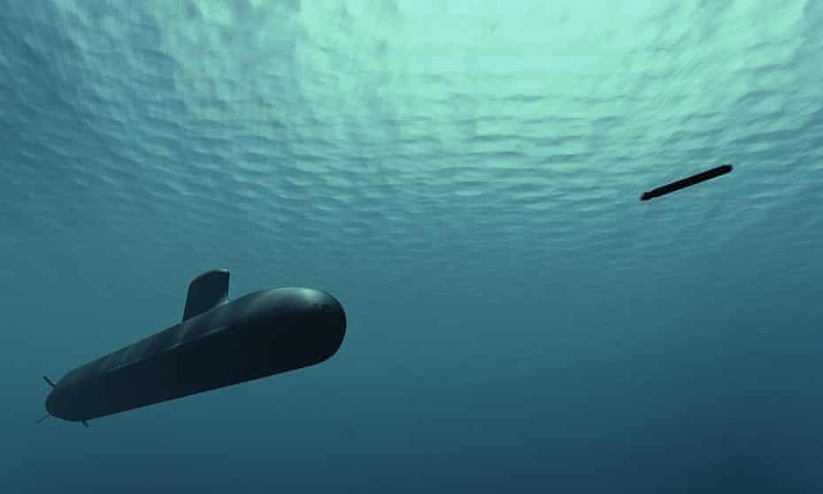 An artist's impression of Naval Group's Shortfin Barracuda submarine