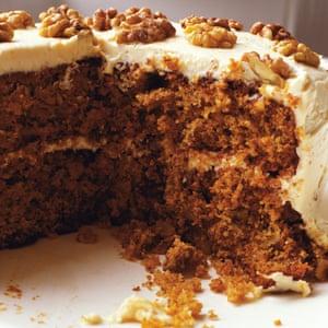 Nigel Slater's carrot cake