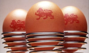 The advice applies to British eggs that bear the red lion symbol.