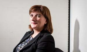 Nicky Morgan, chair of Tory Treasury select committee