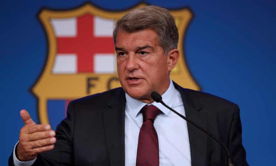 Barcelona president Joan Laporta explains the reasons behind Lionel Messi's departure.