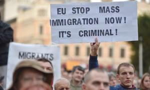 Image result for migrants go home