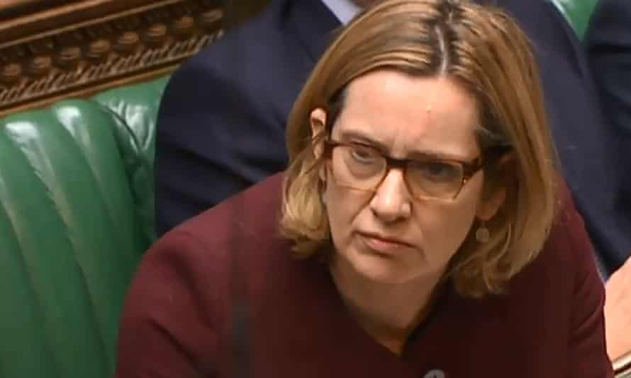 Amber Rudd in the Commons