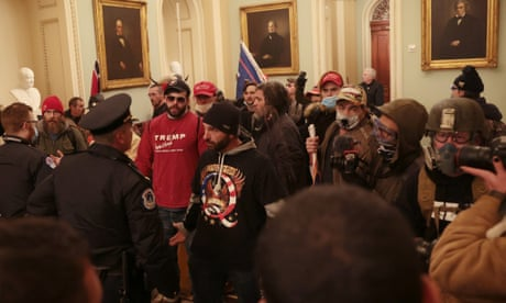 Maga mob's Capitol invasion makes Trump's assault on democracy literal