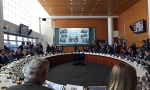 Diplomats, business leaders, World Bank staff, and strategic partners gather just before the inaugural High-Level Assembly of the Carbon Pricing Leadership Coalition.