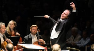 Sakari Oramo conducting at the Proms … he says there is no music festival in the world to match them.