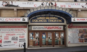 The Duchess theatre has been home to The Play That Goes Wrong for six years.