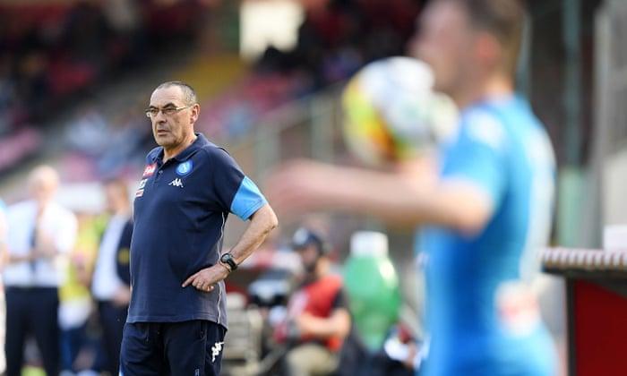 O ex-banqueiro Maurizio Sarri colherá dividendos pelo Chelsea?